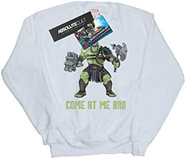 Marvel Herren Thor Ragnarok Come at Me Bro Sweatshirt Weiß XX-Large