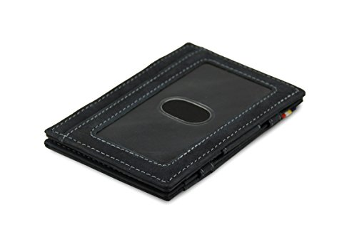 Garzini Magic Wallet RFID ID Window Leather Essenziale