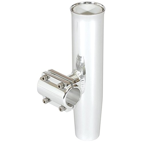 Lee's Clamp-On Rod Holder Horizontal Mount Silver Aluminum (Fits 1.900