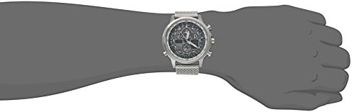 Citizen Eco-Drive Men's JY8030-83E Navihawk A-T Analog Display Silver Watch by Citizen (Image #1)