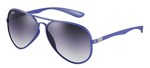 1780c8e6f6 Ray Ban RB4180 AVIATOR LITEFORCE 883-8G Blue   Grey gradient ...