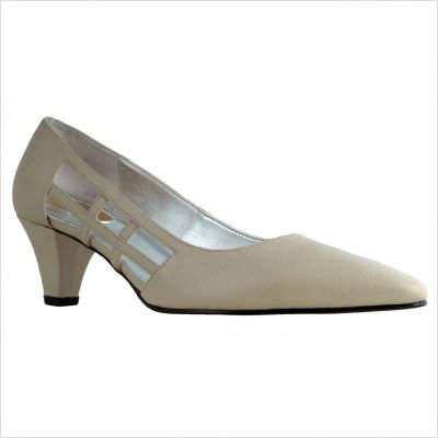 Ros Hommerson Women's Antoinette Homecoming Shoes,Ermine Kidskin,6 M US