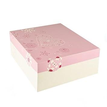 15 cajas de cartón cuadradas para tartas con tapadera (30 cm x 30 cm