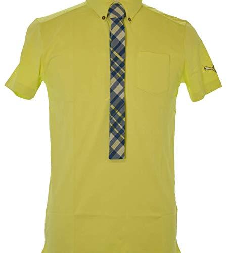 PUMA(プーマ) ゴルフS/Sポロ メンズ ポロシャツ(半袖) サニーライム  903465-03 Lサイズ