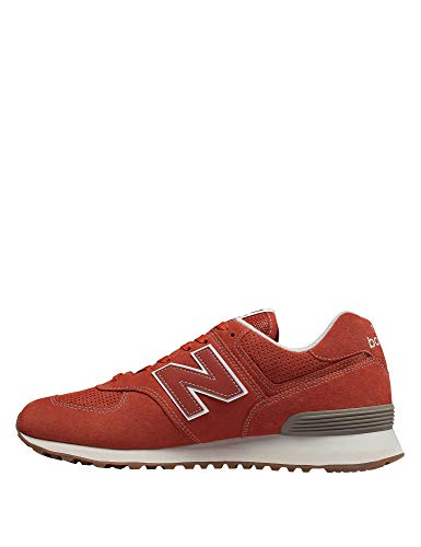 Sneaker Russet New Ml574E Herren Vintage Balance Orange qw44tX1