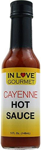 Cayenne Hot Sauce 5 fl. oz. By In Love Gourmet