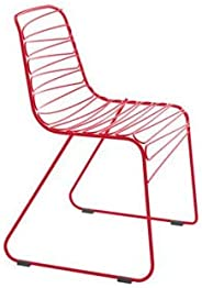 Set 4 Magis Flux Chair Red