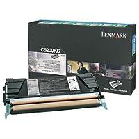 Rückgabe-Tonerkassette/ Farbe: schwarz/ Reichweite: 1500 Seiten/ kompatibel zu Lexmark C530