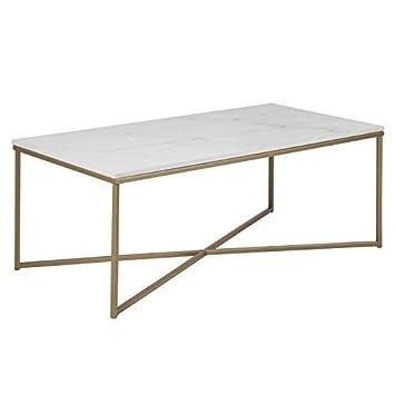 Des Xl Couchtisch Selma Wohnzimmertisch Tischplatte In Weisser Marmor