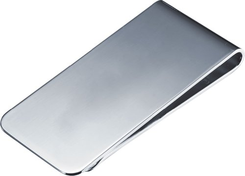 Silver Plated Clip - Visol Men's Aristocrat Polished Plated Money Clip, Silver, Regular