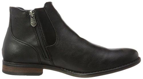 TOM TAILOR Herren 3780003 Chelsea Boots Schwarz (Black)