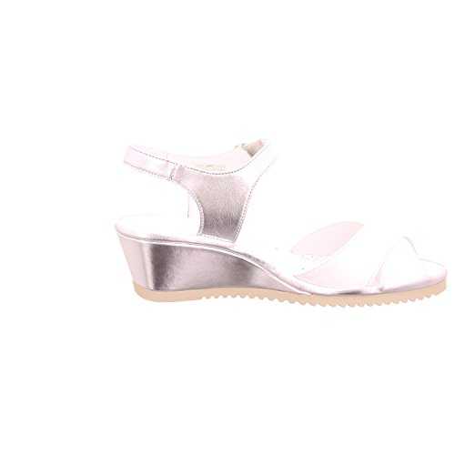 ara 3711706 - Sandalias de vestir de charol para mujer Blanco - blanco