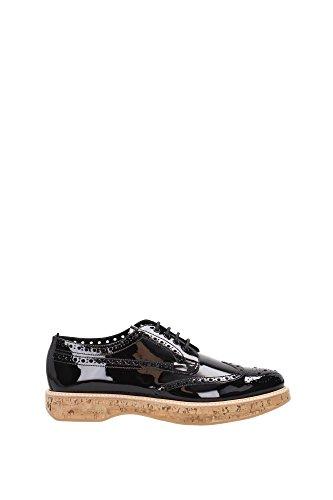 A73945PATENTBLACK cordones EU de Mujer Zapatos Negro Church's qRCTSpnwcW