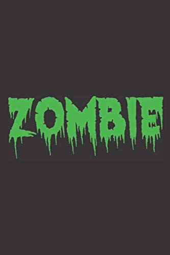 Zombie: Zombie I Halloween I Dotgrid I Notebook I Notizen I Buch I A5 (German Edition)]()