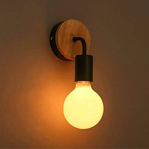 PEISHI Lámpara de Pared Escalera Simple Pasillo de la Sala de niños del Dormitorio de Noche
