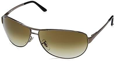 Ray-Ban 3342 004/51 Gunmetal 3342 Warrior Aviator Sunglasses Lens Category 2 Si