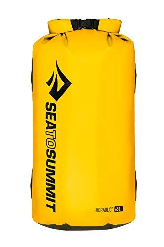 Sea to Summit Hydraulic Dry Bag, Yellow, 65 Liter
