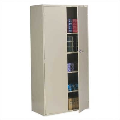 - 9300 Series 2 Door Storage Cabinet Finish: Desert Putty
