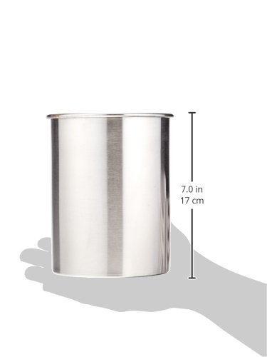 TableCraft Products HU2 Utensil Holder, Stainless Steel Brushed by Tablecraft (Image #2)