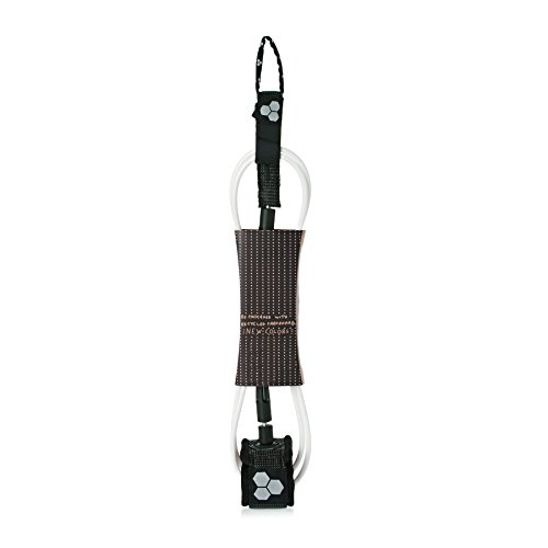Channel Islands Dane Comp 6 Surf Leash 6 feet Black White by Channel Islands