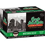 Chock Full o'Nuts Midtown Decaf, Single Serve Cups, Case of 6