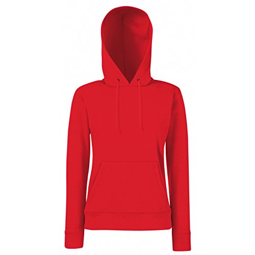 Fruit of the Loom - Sudadera - para mujer Rosso