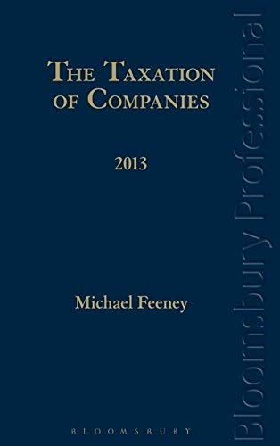 お手頃価格 The [並行輸入品] Taxation of Companies to 2013: A A Guide to Irish Law [並行輸入品] B07PK9GNKZ, 伏見区:f01cbb4b --- efichas2.dominiotemporario.com