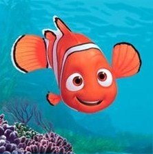 (Finding Nemo Mini Peel and Stick Wall Murals - Decals Featuring Nemo, Dory, Crush and Marlin)