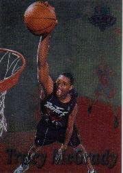 1997 Stadium Club Basketball Rookie Card #217 Tracy McGrady 1997-98