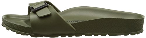 Birkenstock Madrid EVA Narrow Fit - Khaki 128253 (Green) Womens Sandals 38 EU by Birkenstock (Image #5)