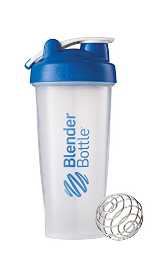 BlenderBottle Классический Loop Топ шейкер бутылки, Clear Blue, 28 унций