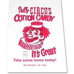 (Cotton Candy Bags - 1000 CT Sold Per CS of 1000)