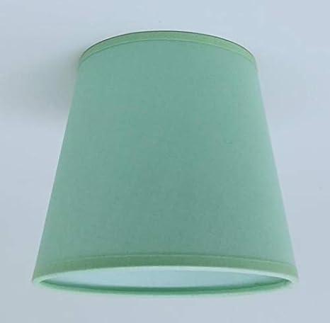 Luz verde pequeñas vela Clip de pantalla de techo lámpara de ...