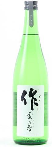 【日本酒】作(ざく) 純米 玄乃智 720ml