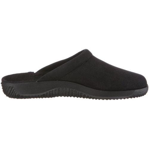 Rohde Softana- H 2773 - Zapatillas de casa de tela para hombre Negro