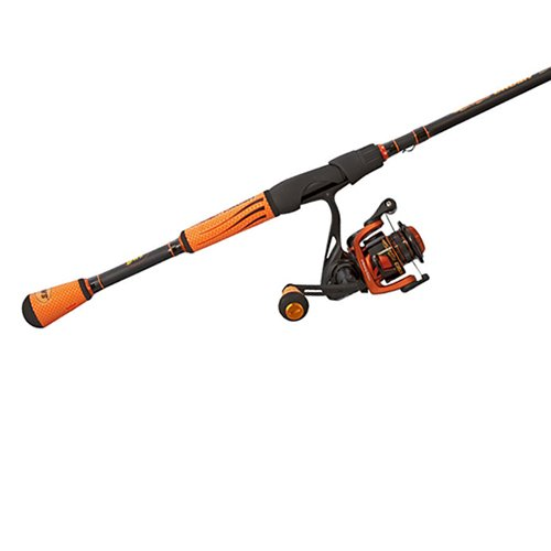LEW'S Fishing Mach Crush Speed Spin Combo, Spincast Combo, Spinning Reel, Fishing Reel and Fishing Rod, Fishing Gear and Equipment, Fishing Accessories (MCR3070MFS)