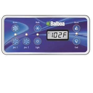 Balboa Water Group 53189-01 Topside Control Panel with 7-Button