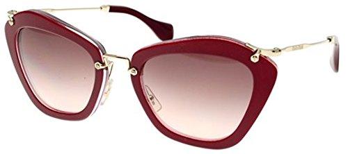Miu Miu Women 1098694016 Pink/Pink Sunglasses - Sunglasses Miu Cat Eye Pink Miu