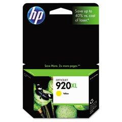 HP OEM 920XL Yellow Inkjet Cartridge