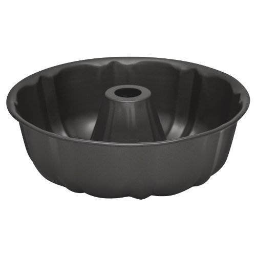 Baker's Secret 1114421 Essentials Fluted Tube/Bundt Pan, -