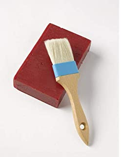 Funnytoday365 Anti Wax Spoon Wax Stamp Sealing Wax Spoon Vintage Wood Handle Sealing Wax Spoon