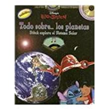 Lilo & Stitch Todo Sobre los Planetas: Stitch Explora el Sistema Solar with Sticker and CD (Audio) (Spanish Edition)