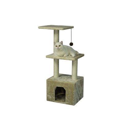 39″ Cat Tree in Beige, My Pet Supplies