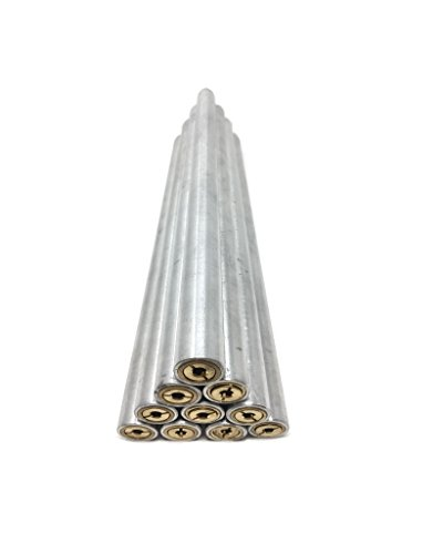 New 10 Pack Aluminum Paver Lawn Pipe Tube Pool Deck Brass Anchor For Swimming Pool Cover
