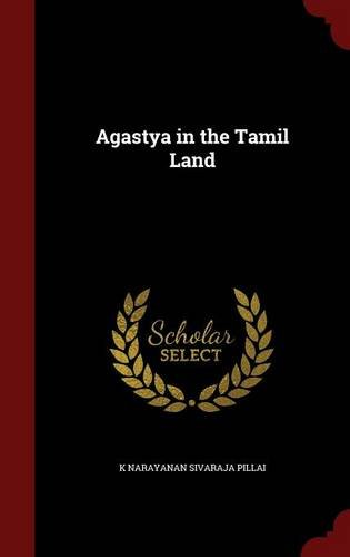 Agastya in the Tamil Land
