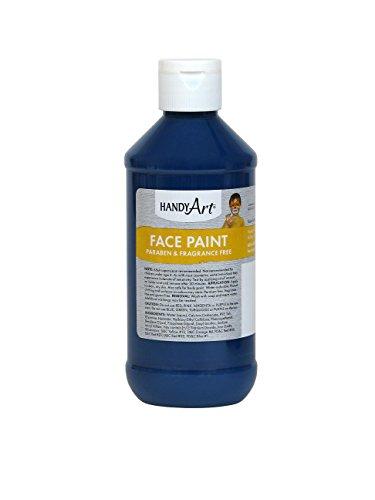 Handy Art Face Paint, Purple, 8-Ounce]()