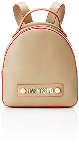 H X Borsa Love L Donna Pu Moschino w Beige 10x28x28 Grain Cm Tracolla naturale Soft wgwPqS