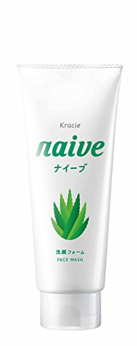 KRACIE NAIVE FACIAL CLEANSING FOAM ALOE, 130G
