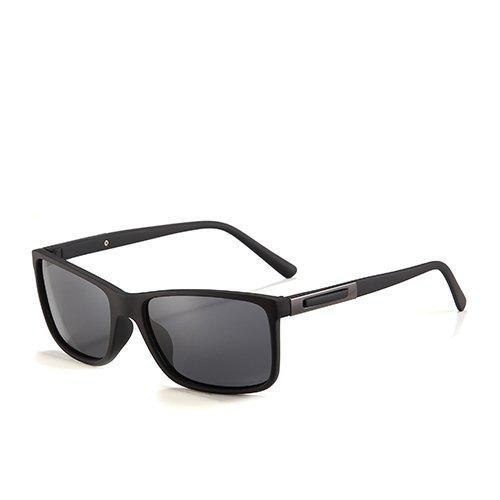 de Hombres G15 Gafas Sunglasses de Conducción TL los Sol C2 Caminante de Smoke para Black Gafas polarizadas C1 Hombres Gafas Sol Viajes Pesca Matte para de Negro 7w1xqwUTd