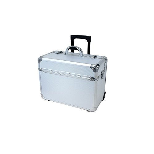 T.Z. Case International T.z Apl-910t Sd Wheeled Pilot Case, 18-1/4 X 10 X 13-3/4 in, Silver by T.Z. Case International